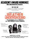 Weather Underground, The movie poster image